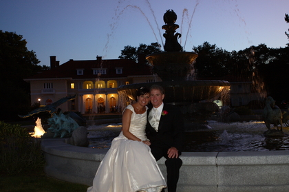 The Newlyweds - Beverly Wedding In September in Beverly, MA, USA