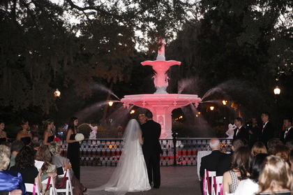 The Ceremony - Taylor and Jake's Wedding in Savannah, GA, USA