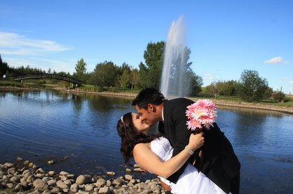 Stony Plain Ab Wedding In August in Stony Plain, AB, Canada