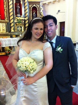 ...us The Newlyweds - Makati Philippine Wedding In July in Makati City, Philippines