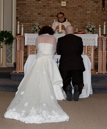Our Wedding in Brookfield, WI, USA