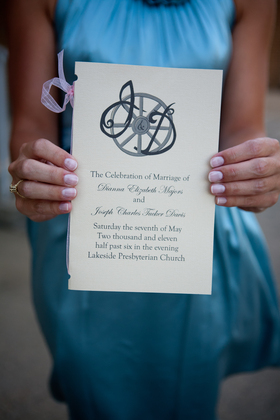 The Invitations - Dianna and Joseph's Wedding in Jackson, MS, USA