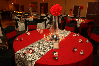 Table Cards and Favors