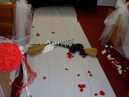 Brooms & Kissing Balls