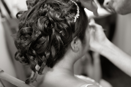 Hair: Luis James Salon Hairstyles - Gulfport Wedding In July in Gulfport, MS, USA