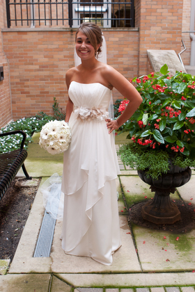 The Wedding Dress - Naperville Wedding In August in Naperville, IL, USA