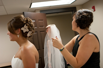Hairstyles - Naperville Wedding In August in Naperville, IL, USA