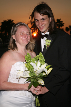 The Newlyweds - Daytona Beach Shores Wedding In March in Daytona Beach Shores, FL, USA