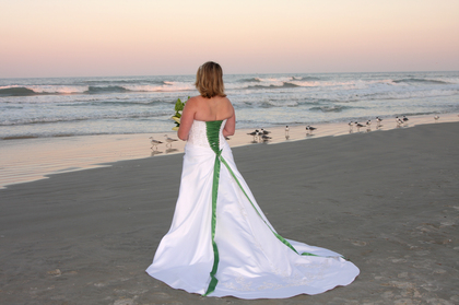 The Wedding Dress - Daytona Beach Shores Wedding In March in Daytona Beach Shores, FL, USA