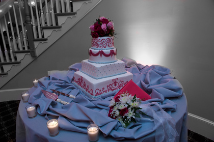 Cakes and Desserts - Ilissa and Stephen's Wedding in Blackwood, NJ, USA