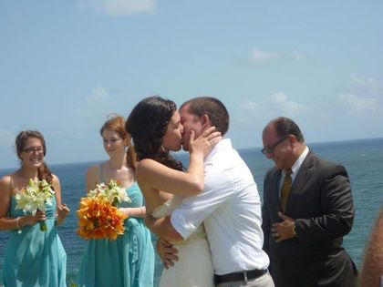 Tyler and Jessica's Wedding in El Morro, Puerto Rico