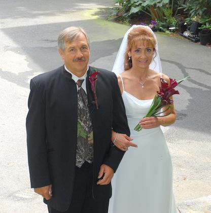 The Newlyweds - Brattleboro Wedding In August in Brattleboro, VT, USA