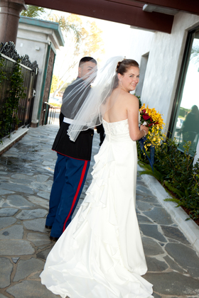 The Wedding Dress - Stephanie  and Joseph 's Wedding in Seal Beach, CA, USA