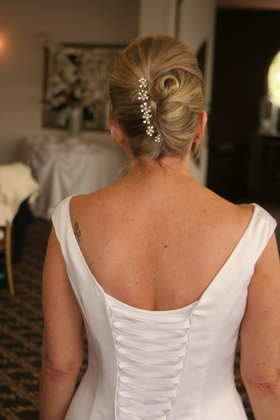 Hairstyles - Cheryl and Michael's Wedding in Simi Valley, CA, USA
