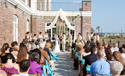 The Ceremony - Charleston Wedding In April in Charleston, SC, USA