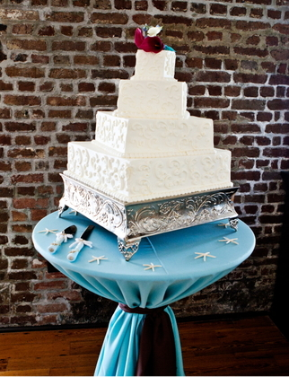 Cakes and Desserts - Charleston Wedding In April in Charleston, SC, USA