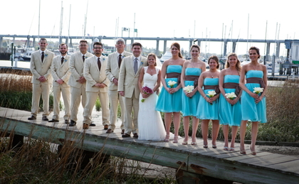 Wedding Party Attire - Charleston Wedding In April in Charleston, SC, USA