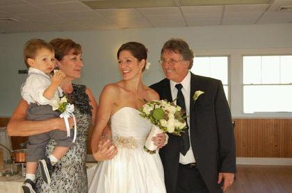 The Ceremony - Melissa and Kris's Wedding in Narragansett, RI, USA