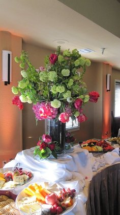 Flowers and Decor - Santa Cruz Wedding In April in Santa Cruz, CA, USA