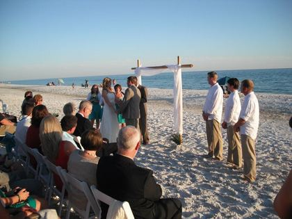The Ceremony - Juliet and Philip's Wedding in Santa Rosa Beach, FL, USA