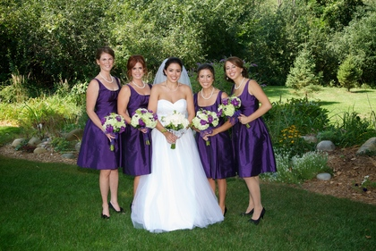 Wedding Party Attire - Oakland Wedding In September in Oakland Twp, MI, USA