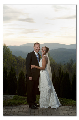 Amanda and Scott's Wedding in Blowing Rock, NC, USA
