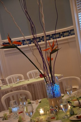 Flowers and Decor - Shannon and Joey's Wedding in Fort Myers Beach, FL, USA