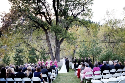 The Ceremony - Patrick and Tia's Wedding in Boulder, CO, USA