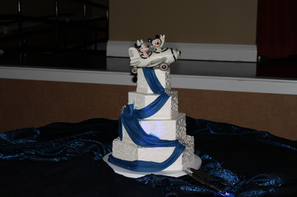 Cakes and Desserts - Christina and Christopher's Wedding in Orlando, FL, USA