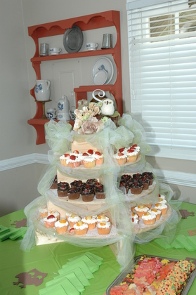 Cakes and Desserts - Phyllis  and Steve's Wedding in Yorktown, VA, USA