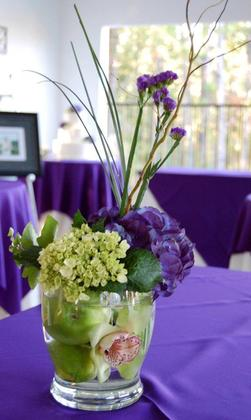 centerpieces Flowers and Decor - Lancaster Wedding In October in Lancaster, SC, USA