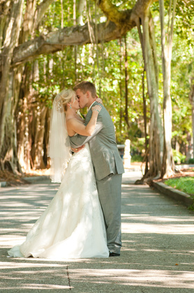 Morgan and Morgan's Wedding in Cortez, Florida, USA