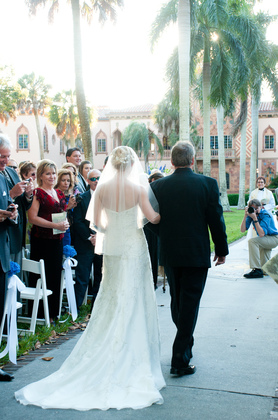 The Wedding Dress - Morgan and Morgan's Wedding in Sarasota, FL, USA
