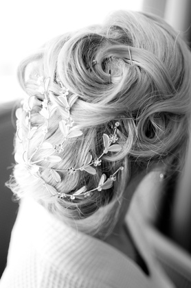 Hairstyles - Morgan and Morgan's Wedding in Sarasota, FL, USA