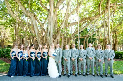 Wedding Party Attire - Morgan and Morgan's Wedding in Sarasota, FL, USA