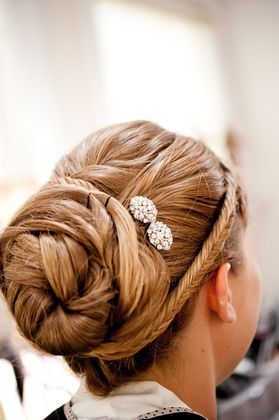 Wedding hair done at body and soul salon day spa Hairstyles - Carlisle Wedding In June in Carlisle, PA, USA