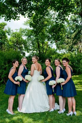 Anne Taylor Dresses Wedding Party Attire - Carlisle Wedding In June in Carlisle, PA, USA