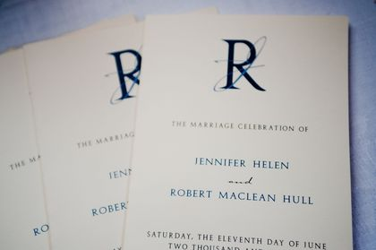 Programs and Invitations by Sealed with love The Invitations - Carlisle Wedding In June in Carlisle, PA, USA