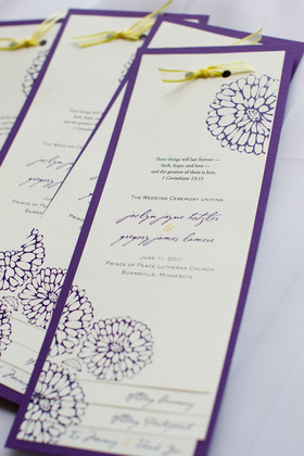 Milestone Paper Co. The Invitations - Minneapoli Wedding In June in Minneapolis, MN, USA