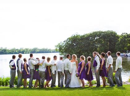 Wedding Party Attire - Minneapoli Wedding In June in Minneapolis, MN, USA