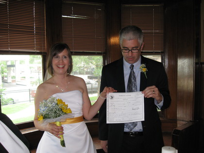 Diane and Mark's Wedding in Glenview, IL, USA
