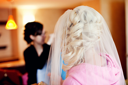 Hairstyles - Jake and Caitlin's Wedding in Des Moines, IA, USA