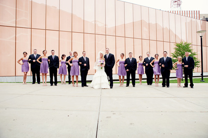 Wedding Party Attire - Jake and Caitlin's Wedding in Des Moines, IA, USA