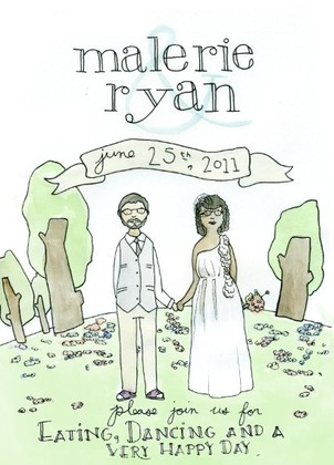 The Invitations - Malerie and Ryan's Wedding in urbana, oh