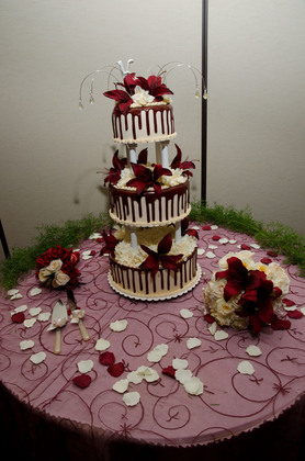 Cakes and Desserts - Niagara Falls Wedding In November in Niagara Falls, NY, USA