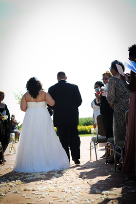 The Ceremony - Iyesha and Alex's Wedding in Erie, PA, USA