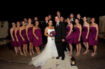Wedding Party Attire - Maria and Patrick's Wedding in San Juan, Puerto Rico