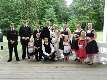 Our bridal Party  Wedding Party Attire - Stayton O Wedding In July in Stayton, OR, USA