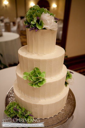 Beautiful Cake by Nicki's Cakes & Flowers by Moxie Florists, Wilmington NC Cakes and Desserts - Amanda and Ronald's Wedding in Wilmington, NC, USA
