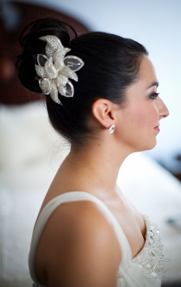 Hairstyles - Marisa and Patrick's Wedding in Pearland, TX, USA